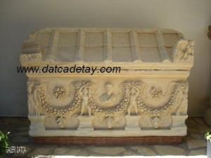 antik mermer lahit