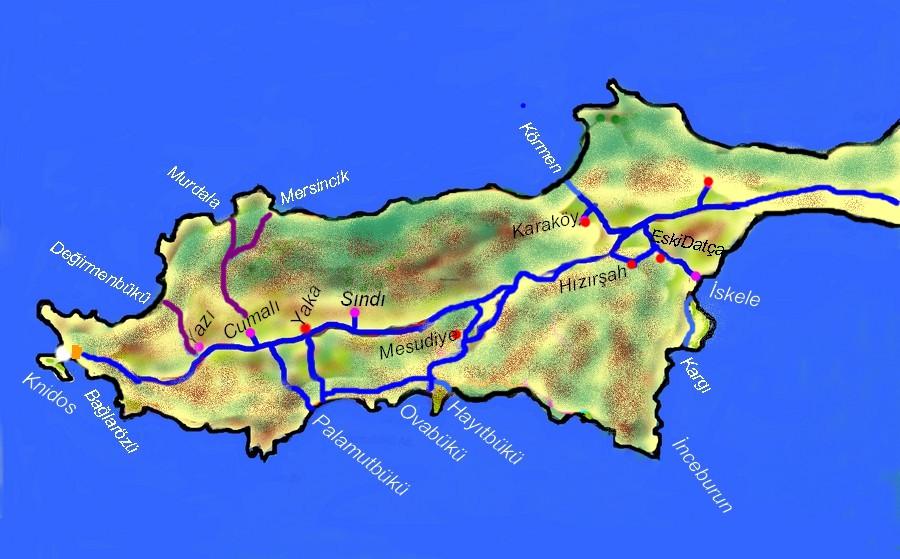 mesudiye yol haritası