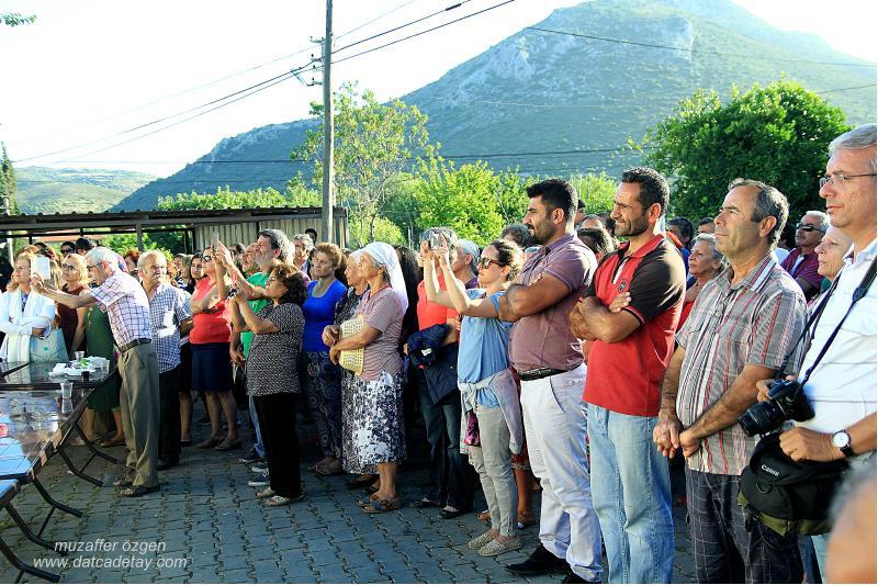 yazıköy'de sergi açılışı