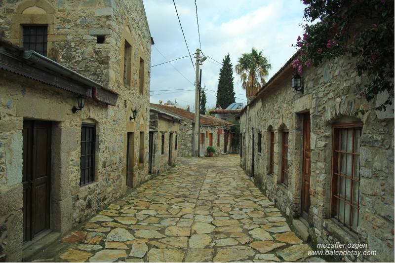 eski datça çarşı sıkakta tarihi evler