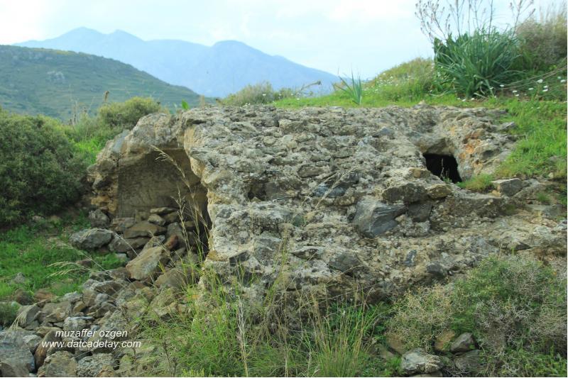 eski datça şapel kalıntısı