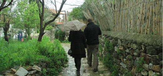 yağmurda can yücel sokağı