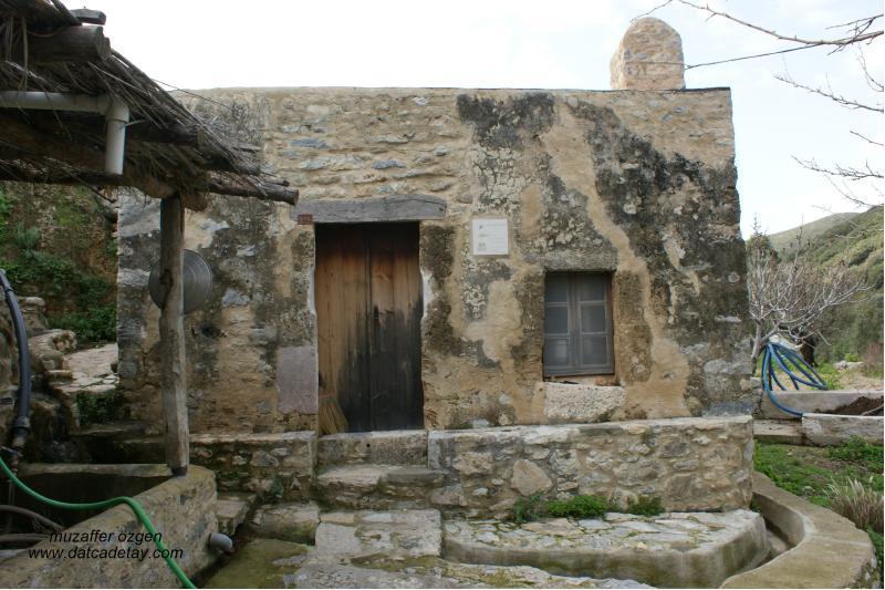 knidia çiftliğinde değirmen binası