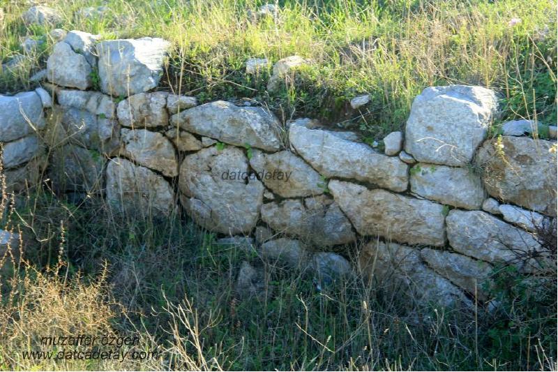burgaz hellenistik duvarlar