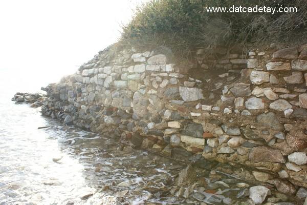burgaz antik istinat duvarları