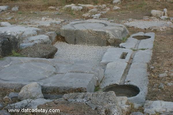 burgaz hellenistik dönem şarap işliği