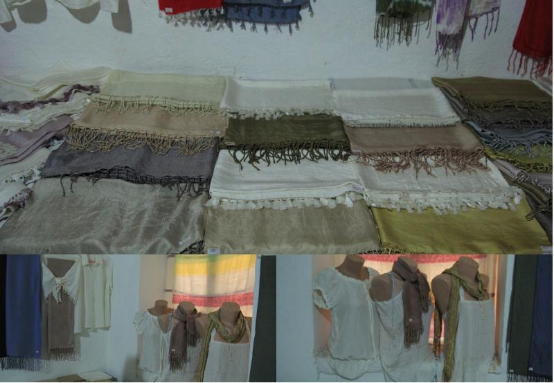 datça ipek dokuma ürünleri