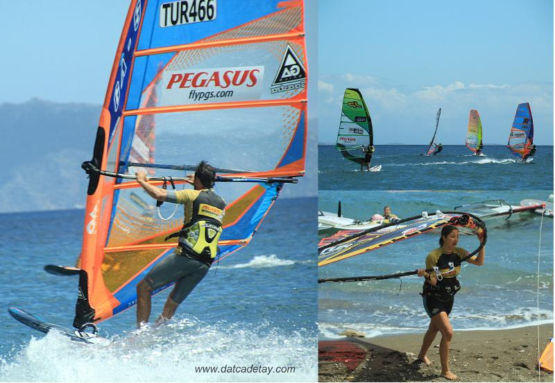 windsurf yarışları
