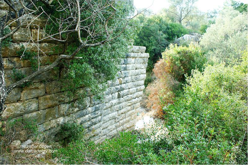 datça çeşmeköy antik köprü