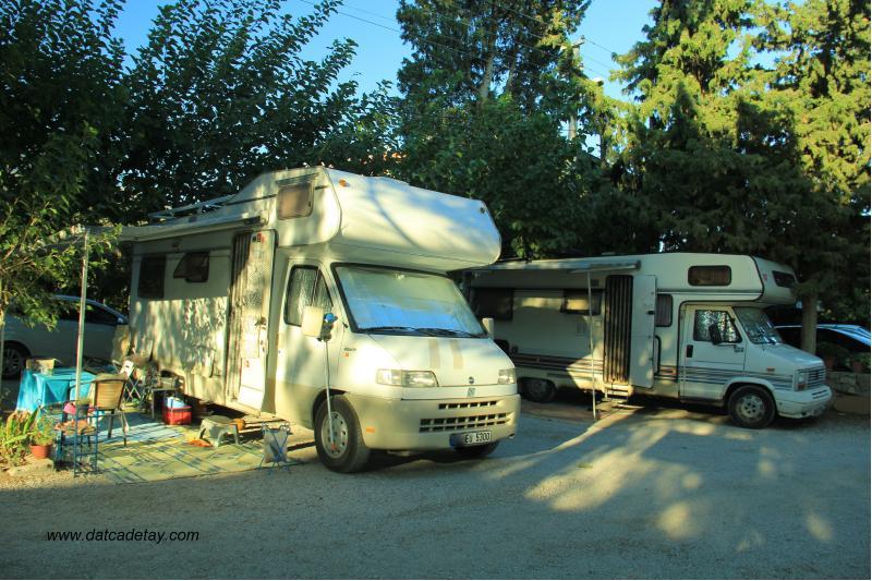 datça kamp alanları