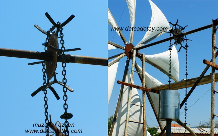 rüzgala çalışan su pompası