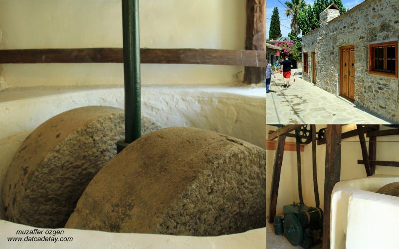 eski mengenlerde değirmen taşları