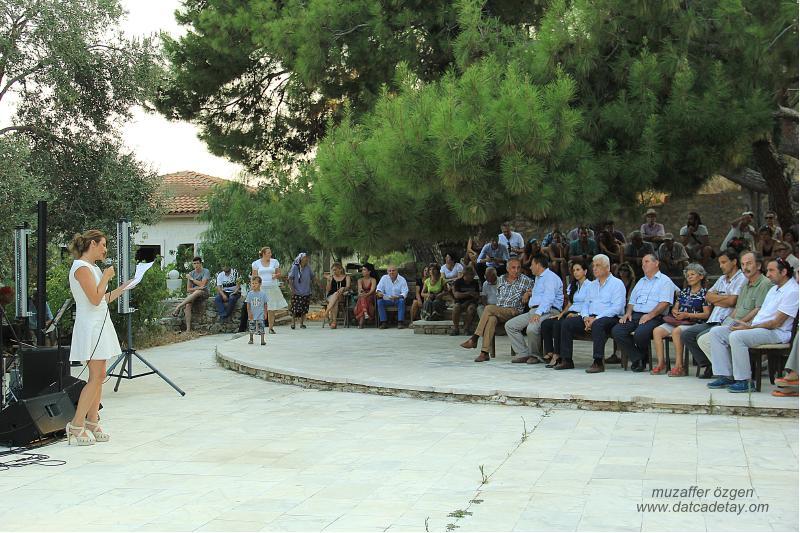 knidos akademi sergi açılışı