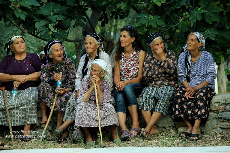 datça yakaköy yaşlılar