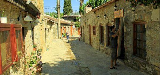 eski datça çarşı sokağı