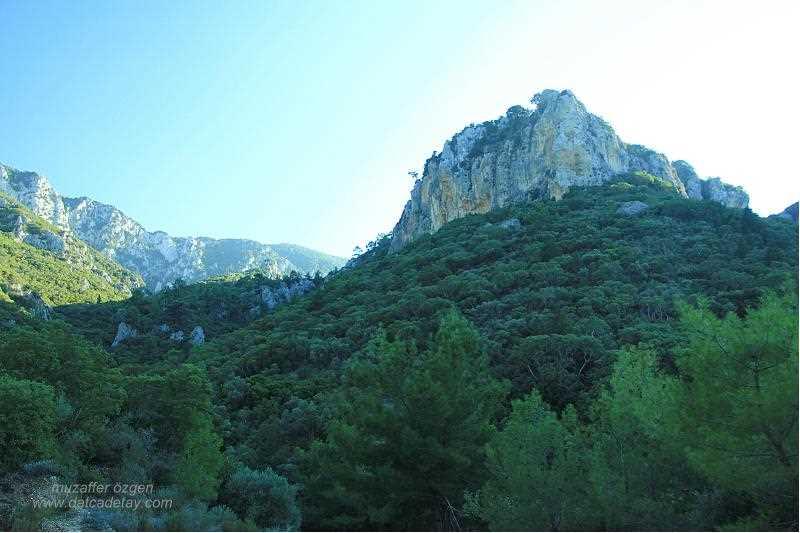 murdala koyuna giden yolda dağlar
