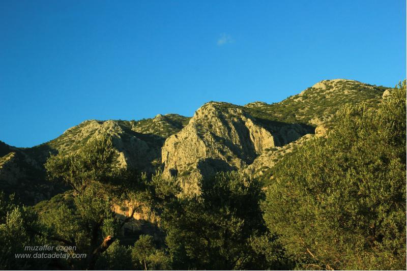 datca yaka dağları