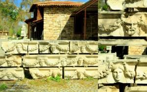 afrodisias antik kentinde lahit