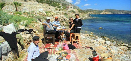 knidos'ta piknik