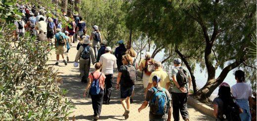 Akdeniz'den Ege'ye doğa yürüyüşü