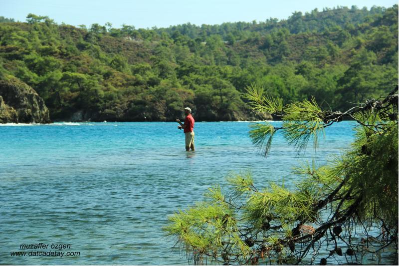 balıkaşıran'da balık tutma