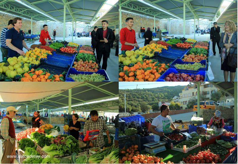 datça pazarı