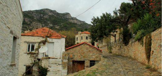 datça emecik köyü'nden manzara