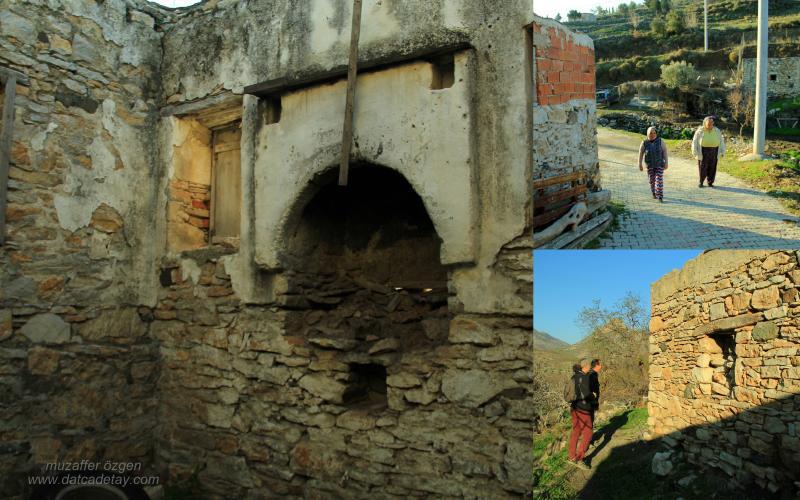 eski evin içi