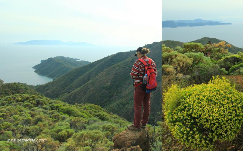 datça dağlarından manzaralar