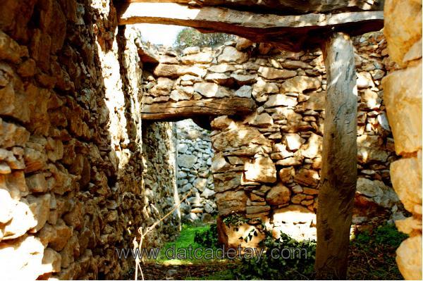 eski yapının içi