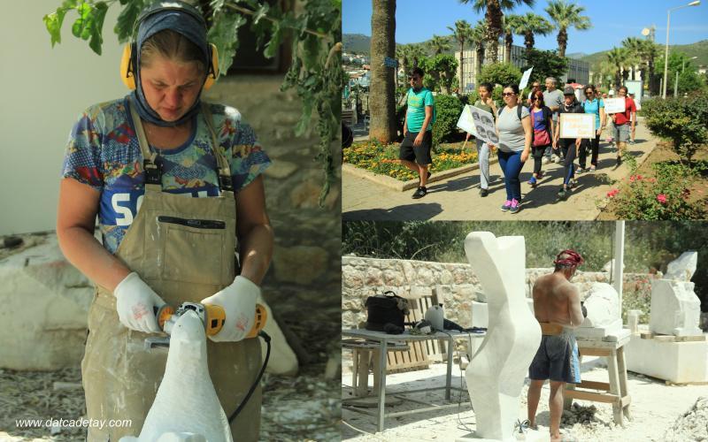 knidos akademi heykel çalışmaları