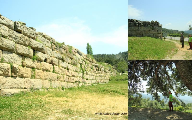 labranda antik kenti giriş