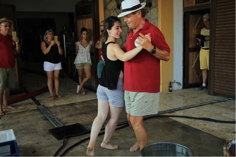 bağ bozmunda modern dans