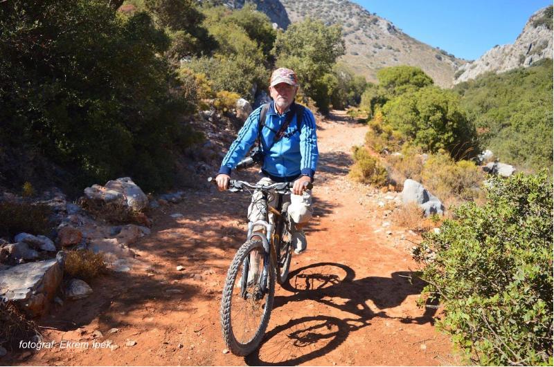 dağlarda bisiklet gezisi