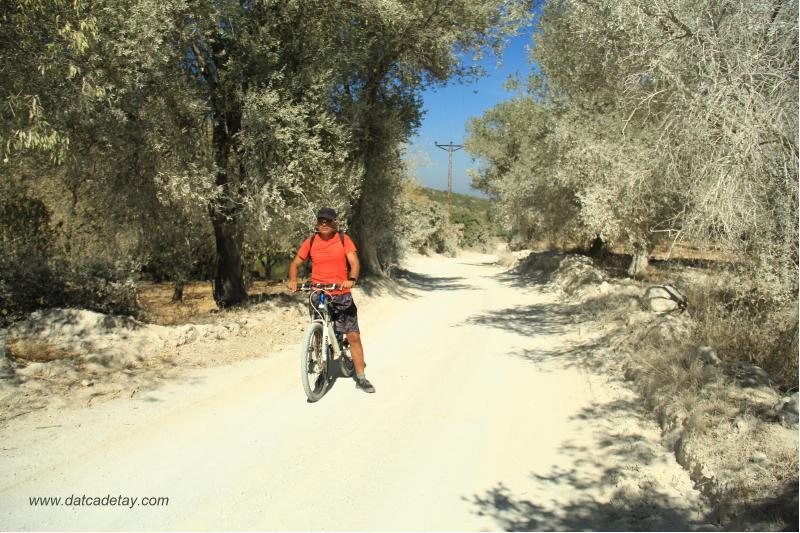 kargı deresinde bisikletle
