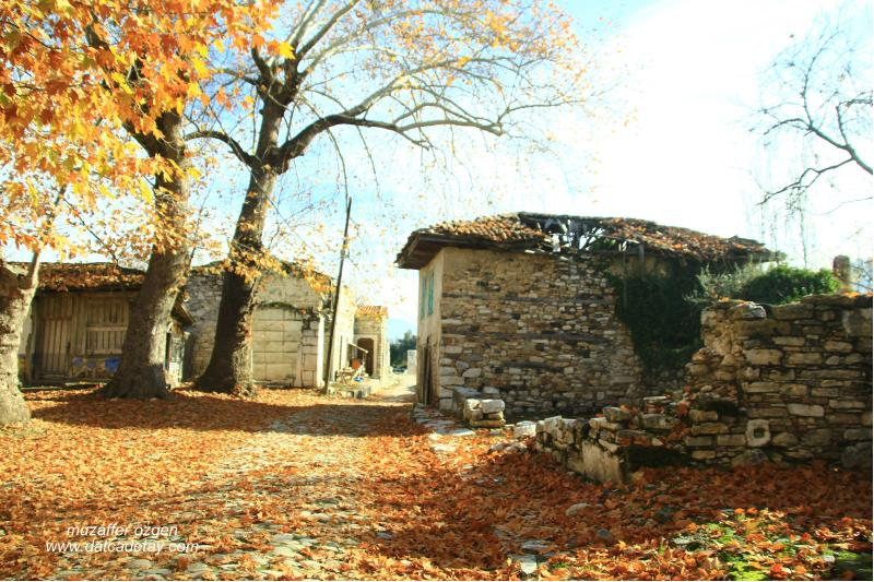Stratonikeia eski evler