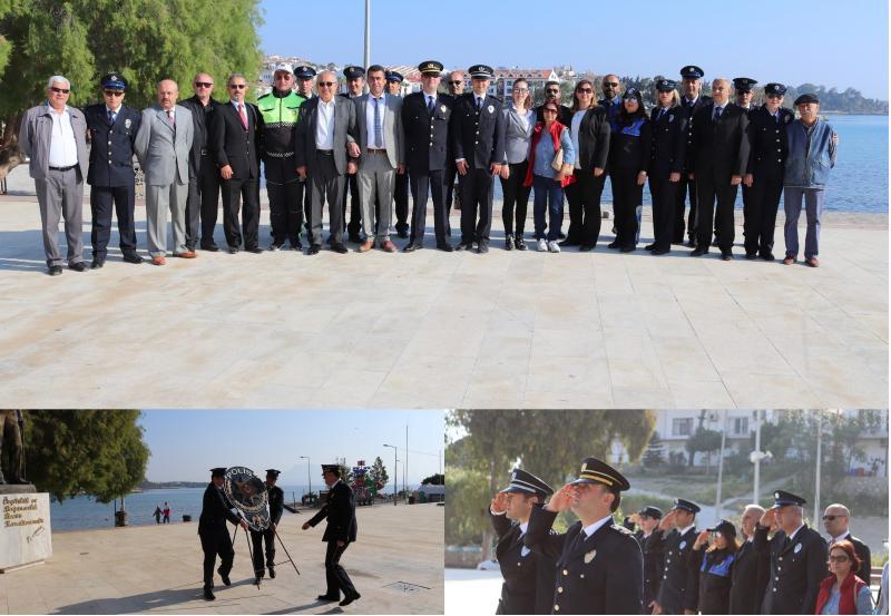 polis teşkilatının 173.kuruluş yıldönümü kutlamaları