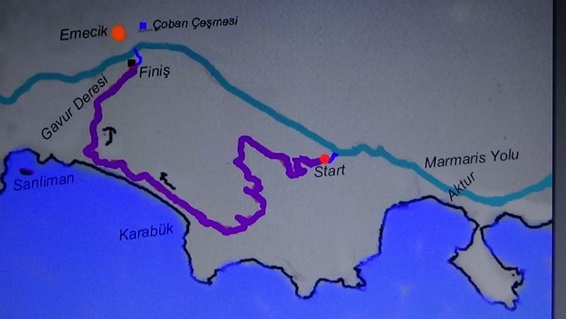 datça ralli haritası