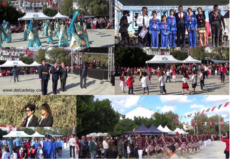 datça'da 29 ekim cumhuriyet bayramı coşkusu
