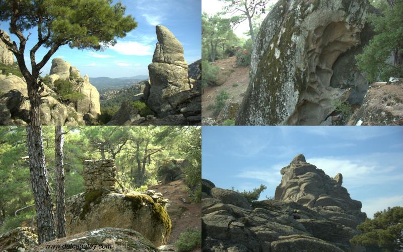 baparcık kayalar