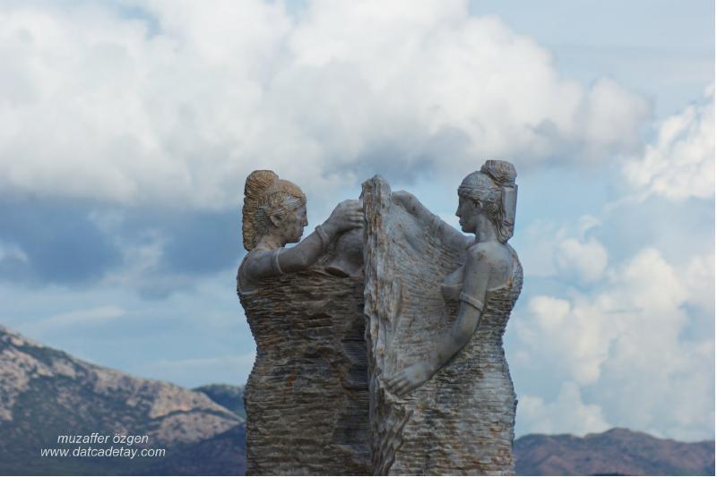 datça heykeller