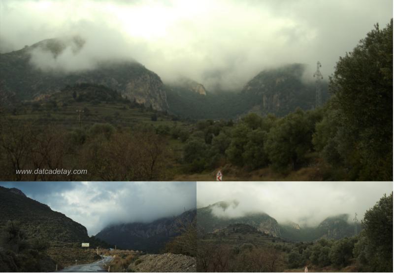 ocak ayında dağlar