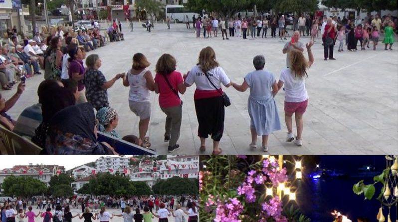 datça'da 19 mayıs bayram kutlaması