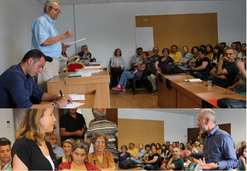 datça kent konseyi başkanlık seçimi