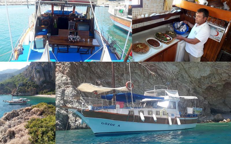 palamutbükü gözde- A teknesi